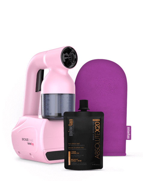 Minetan Bronze Babe Personal Spray Tan Kit - Pink