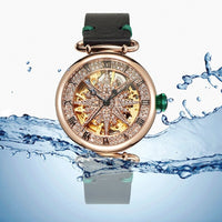 2020 New Hollow automatic mechanical watch woman waterproof