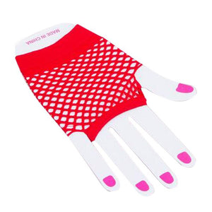 1 Pair Summer Women's Elastics Fishnet Female Gloves Lace Soft Wrist Glovers