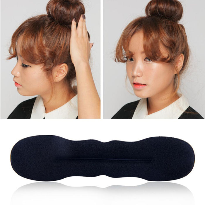 1 Set Fashion Hair Fast Bun Magic Foam Sponge Hair Tools Plate Donut Bun Maker Former Twist Tool BraiderStyling Hair Accessories
