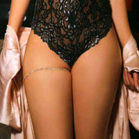 1 pcs Sexy Women Gold-Color Crystal Leg Bracelet Thigh Body Bikini Beach Harness Summer Leg Chain Jewelry Accessories x163