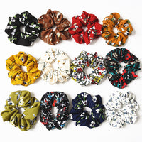 Floral Elastic Hair Band Women Headwear Hair Accessories