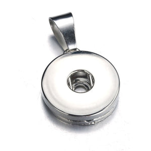 10pcs/lot Interchangeable Charm Snap Buttons Snap Jewelry Finding For Make Snap Button Bracelets Necklace