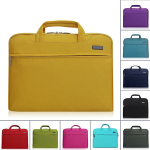 Laptop Handbag Waterproof Nylon Cross-Section Business Laptop