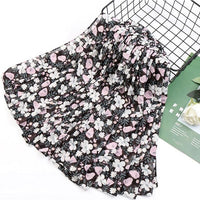 115x115cm Fashion Flower Prints Scarf Hijabs Square Hijab Muslim Wraps