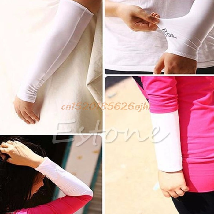 1Pair Sun UV Summer Men's Women's Arm Sleeves For Sun Protection Cycling Arms
