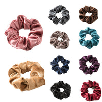 1Pc Soft Velvet Women's Elastic Hair Ring Rubber Bands Sweet Girls