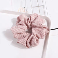 1Pcs Polka Dot Design Hair Scrunchies Ponytail Holder Hair Ties Gum Hair Bands