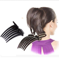 2 pcs Delicate Fashion Style Volume Inserts Hair Clip Bumpits Bouffant Ponytail Hair Comb Rope Headwear Accessories Hot Sale