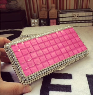 2016 New product  Cigarette Case Box Woman Lengthen Can hold longer cigarette Manual stick drill