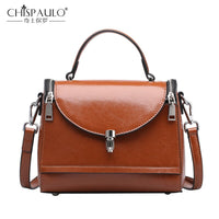 2018 Genuine Leather Women Handbags High Quality Natural Leather Ladies shoulder