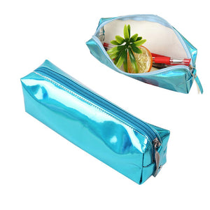2018 New Fashion Women Laser Makeup Storage Bag Organizer Pouch Stationery Pen Case Gift