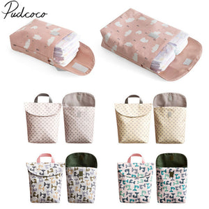 2019 Diapering Toilet Training Packages Mini Waterproof Wet Dry Bag for Baby Infant