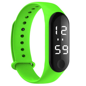 2019 Fashion Digital LED Sport Watch Unisex Silicone Band Wrist Watches Men Women zegarek montre relogio reloj inteligente mujer