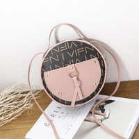 2019 Fashion Summer New Print Polyester Round One Shoulder Messenger Bag Luxury