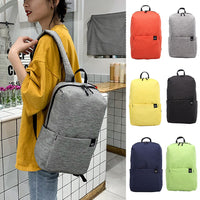 2019 Fashion Women Casual Simple Solid Color Capacity Student Sport Backpack Outdoor Travel Couple Bag mochila feminina 50