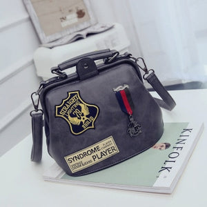 Arrival PU Leather Single Shoulder Doctor Bag For Women Messenger Bag Crossbody bag Woman