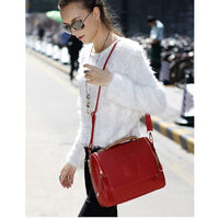 Arrival women cross body bag Barrel-shaped Pu  women shoulder bag Messenger Bags