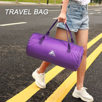 2019 New Casual Women Men Travel Bag Handbag Foldable Large Capacity for Outdoor Sport BS88