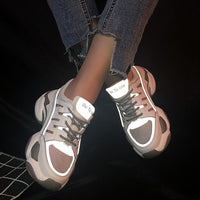 2019 New Women Sports Sandals Summer Women Chunky Sneakers