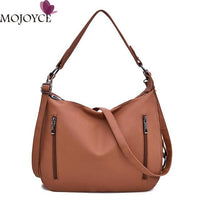 Women Pure Hobos Totes Baguette Retro Commuting Shoulder Messenger Handbags Girls Casual Large