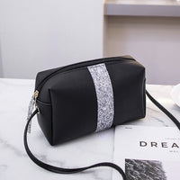 2019 Womens Bags Handbags Leather Sequins Women's Crossbody Shoulder Messenger Bags Evening Clutch Bags Ladies Purse Bolsa