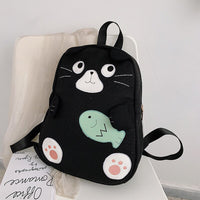 2019 new JIULIN high-quality sport cat fashion trend casual wild student backpack lady bag
