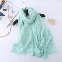 new brand spring women scarf fashion long scarves cotton winter  hijabs female