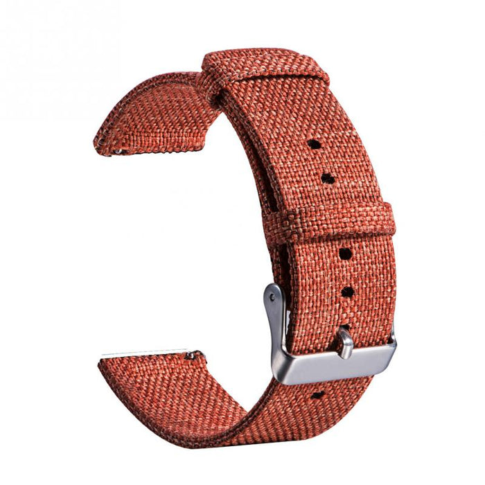 20mm Universal Canvas Watch Strap Band for Men Women  Wrist Strap Adjustable with Adapters Watches Acccessories Solid #06