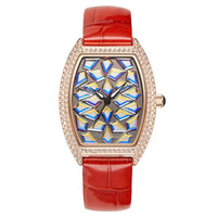 Watch Women Leather Bracelet Watch Female Rose Gold Watches Luxury Waterproof
