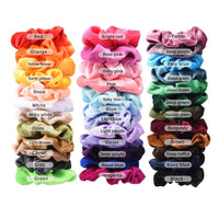 36 Pcs Hair Scrunchies Velvet Elastic Hair Bands Scrunchy Ties Ropes Scrunchie