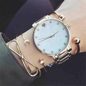 4 Pcs/ Set Classic Fatima Hand Multilayer Adjustable Open Cuff Bangles Bracelet For Women Star Moon Rhinestone Vintage Jewelry