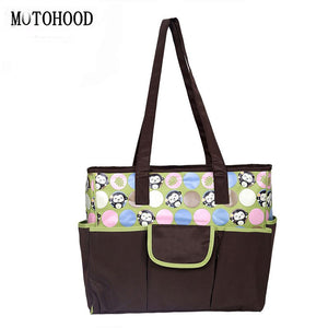 40*18*32cm 3pcs Baby Diaper Bag For Mom Waterproof Maternity Nappy Bags Printing