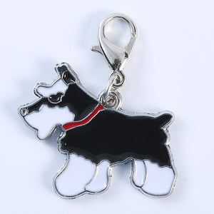 5pcs/lot 2019 New Fashion Dog Keychain Animal Couple Lovely Keychain Car Keyring Gift For Girl Women And Men Jewelry Bag Charm
