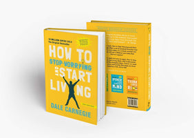 How to stop worrying and start living by Dale Carnagie  Paper back