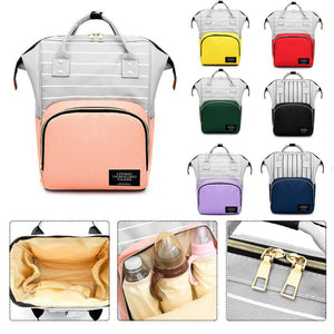 7 colors Fashion Mummy Maternity Nappy Bag Large Capacity Baby Bag Travel Backpack