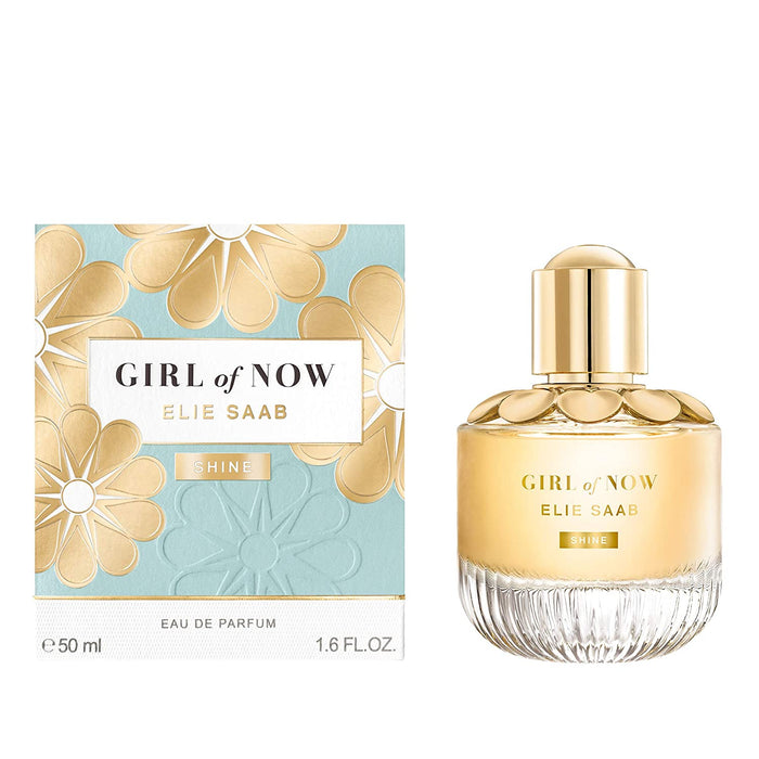 ELIE SAAB: Girl Of Now Shine, Eau De Parfum Spray, for Women, 50 ml/ 1.6 oz