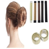 8Colors DIY Tool Hair Accessories Synthetic Wig Donuts Bud Head Band Ball French Twist French Magic Bun make Sweet Hair Braider