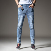 2020 New High-Quality of Fantastic Patterns Slim Elastic Comfortable Men Jeans