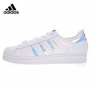 Adidas Super Star Men and Women Skateboarding Shoes Sports Designer White
