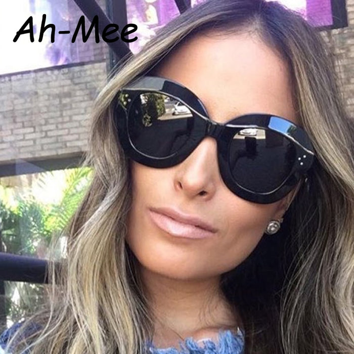 Ah-Mee 2019 Fashion Sunglasses Women Luxury Brand Designer Vintage Sun glasses