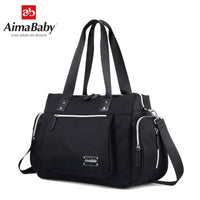 Aimababy mom travel baby stroller diapers changing mummy maternity diaper tote bag