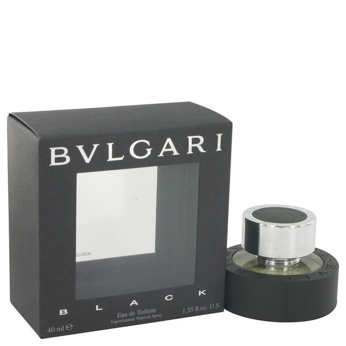BVLGARI: Black, Eau De Toilette Spray, Unisex, 40 ml/ 1.3 oz