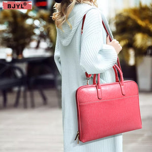 handbags ladies 14 inch laptop bag luxury fashion female official business