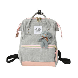 Baby Diaper Backpack Multifunctional Mummy Waterproof Bag Fashion Casual Maternity