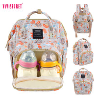 Baby Diaper Bag Fashion Mummy Maternity Bag for Mother Brand Mom Backpack Nappy