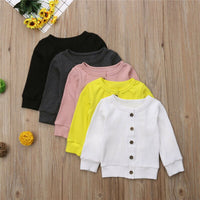 Baby Girl Toddler Long Sleeve shirt Blouse Tops Clothes Autumn Winter