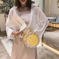 Bags For Women 2019 New Fashion Wild Messenger Bag Fashion Shoulder Bag Chain Small Round Pack Crossbody Bags bolsa feminina