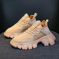 2020 Autumn Women Platform Sneakers Wedges Thick Sole Height Canval Shoes