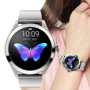 Bluetooth Smart Watch For Women Girl Sport Luxury Heart Rate Monitoring Waterproof Female Cycle Reminder IOS Android Smartwatch